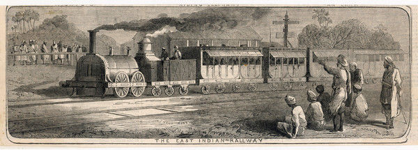 The East India Railway in operation