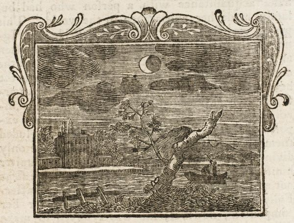 An eclipse of the moon, illustrating the fable 'The Eclipse&#39