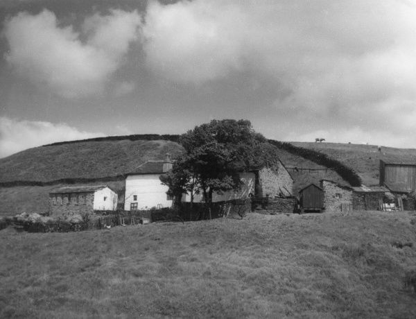 Edgworth Youth Hostel, Lancashire, England - a farm at over 1000 feet above sea level, on the moors. Date: 1930s