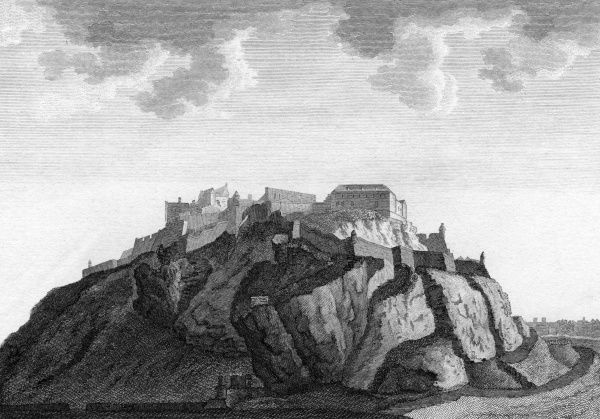 Edinburgh Castle from the north(?) Date: 1789