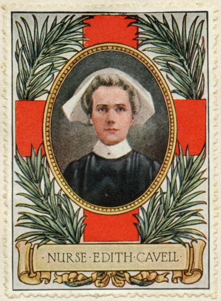 EDITH CAVELL English nurse, executed by the Germans