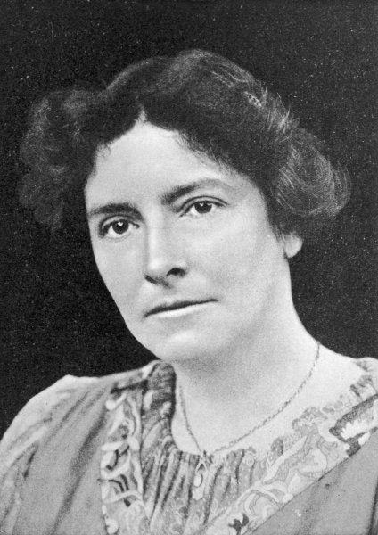 EDITH NESBIT - Mrs Hubert Bland, English writer