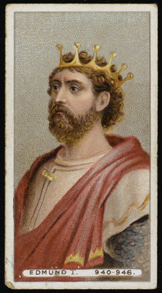 EDMUND I called the DEED-DOER and THE MAGNIFICENT King of England (939-946)