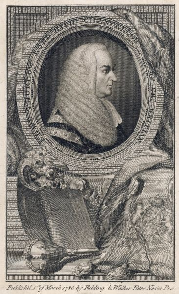 EDWARD, 1st baron THURLOW Lord Chancellor