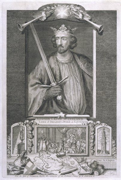 EDWARD I (LONGSHANKS) King of England (1272-1307)