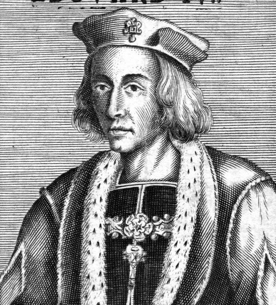 KING EDWARD IV Yorkist king descended from Edward III