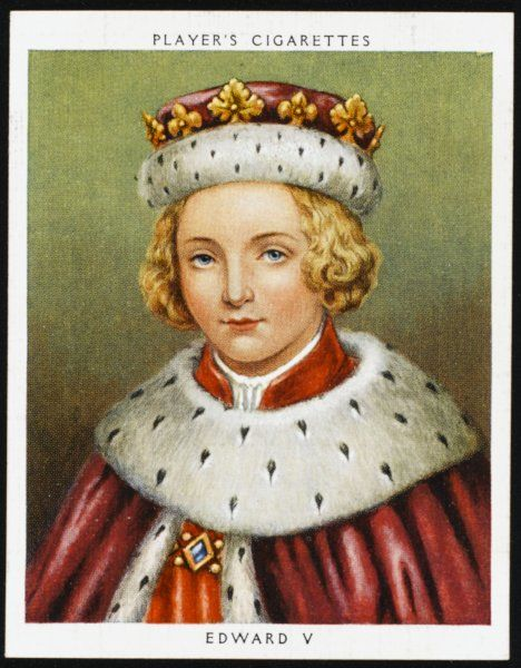 EDWARD V Reigned from April to June 1483