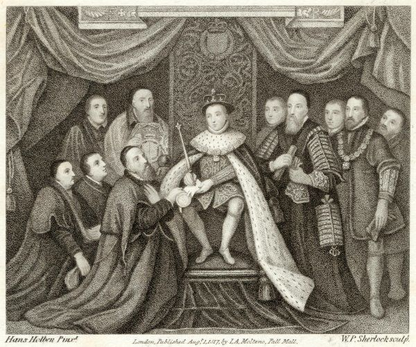 Edward VI grants Charter to Bridewell Hospital