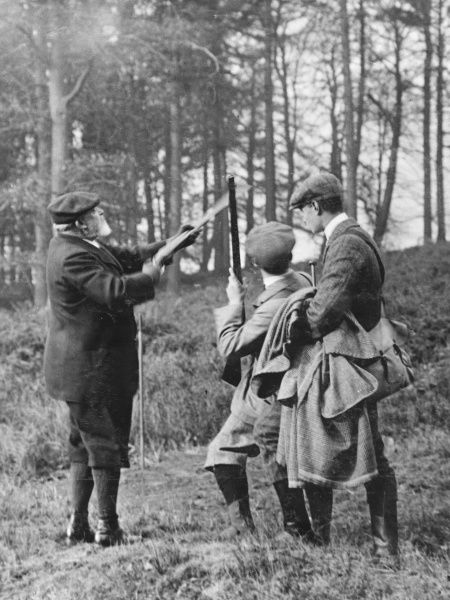 King Edward VII out shooting at Windsor