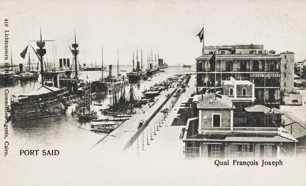 Egypt - Port Said - The Franz Joseph Quay