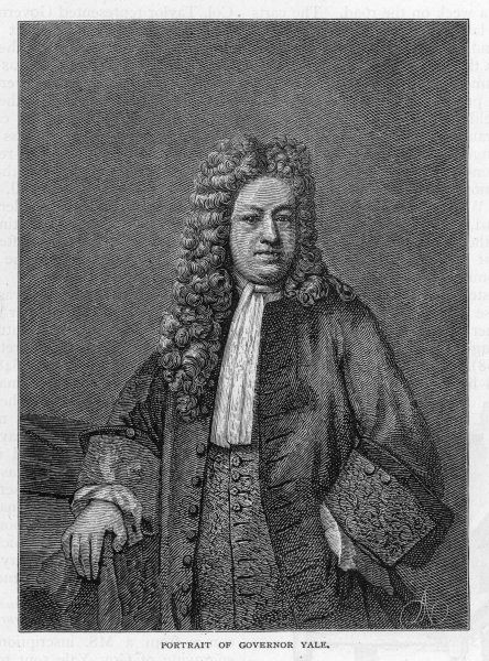 ELIHU YALE English colonial administrator; early benefactor of the college which adopted his name in 1718