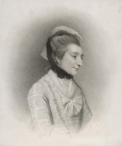 mrs ELIZABETH MONTAGU author, 'blue stocking' and social leader