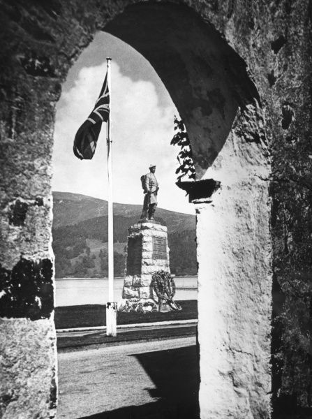 'Emblems of Empire', at Inverary, Argyllshire, Scotland. Date: 1930s