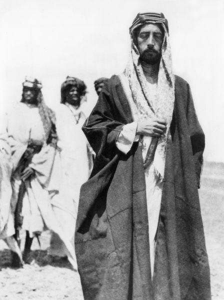 Emir Faisal (1883-1933) at Wejh (now in Saudi Arabia) during the First World War. He later became Faisal I of Iraq. He directed the Arab revolt against the Ottomans in 1916 and became King of Syria in 1920. Expelled from Damas by the French