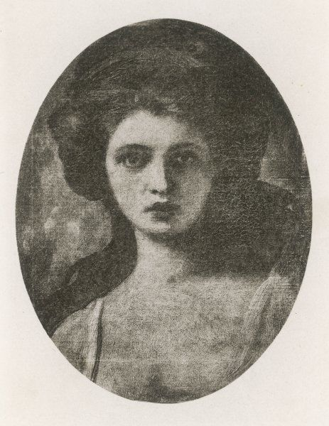 EMMA, LADY HAMILTON Wife of Lord Hamilton, mistress of Lord Nelson, depicted as Cassandra