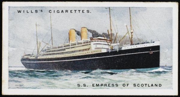 Canadian Pacific liner, sailing between Europe and Canada