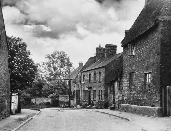 A glimpse of Little Brington, Northamptonshire, famous as the village home of George Washington's ancestors and one of the links between the two great English speaking nations