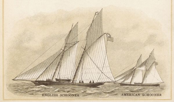 ENGLISH AND AMERICAN SCHOONERS