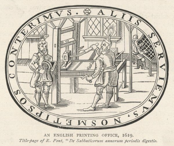An English printing house
