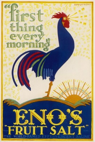 Enos Fruit Salts, a popular cure for digestive ailments throughout the 19th and early 20th centuries