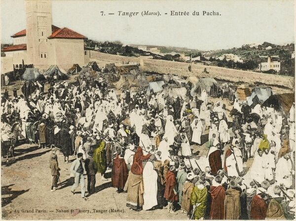The Entry of the Pacha into Tangiers, Morocco