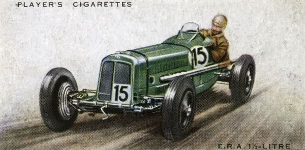 English Racing Automobiles produce a truly British racing car - and successful, too, winning many races in its class (1500 cc). Date: 1936