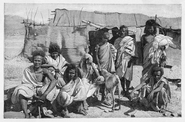 An Eritrean family group
