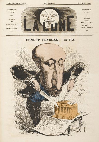ERNEST FEYDEAU French novelist, father of G L J M Feydeau the playwright
