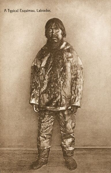 Eskimo man from Labrador, Canada