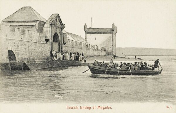 Essaouira (formerly Mogador) - tourist resort on the Western Moroccan region of Marrakesh on the Atlantic coast - occupied since prehistoric times. A good anchorage, Carthagian navigator Hanno established trading post here in the 5th century BC