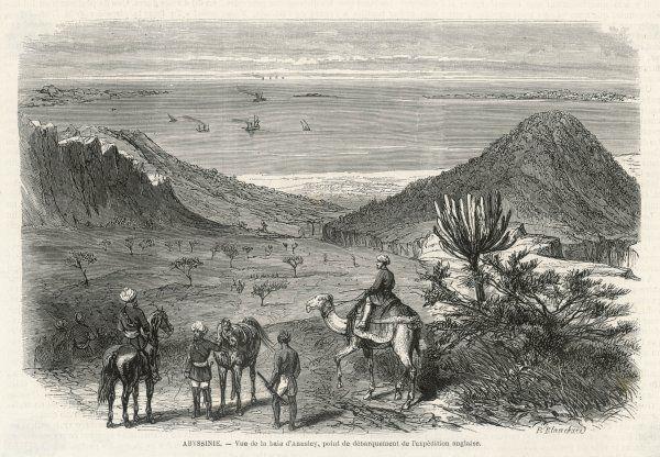 Gulf of Zula (Annsley Bay), East Africa, where an English expedition disembarked