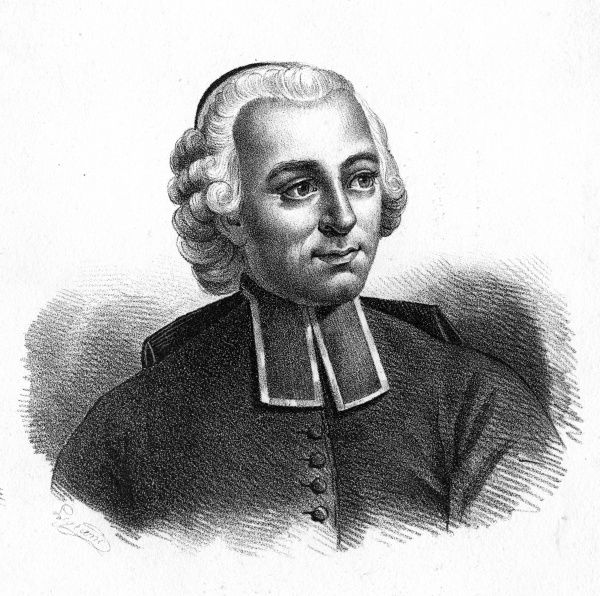 ETIENNE BONNOT DE CONDILLAC French churchman and philosopher, member of the Academie Francaise. Date: 1715 - 1780