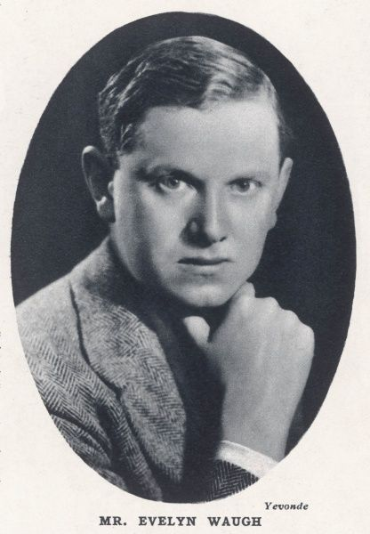 Evelyn Waugh (1903 - 1966), English novelist and satirist photographed by Madame Yevonde