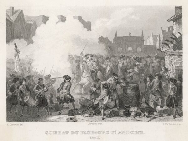 The Fronde - Battle of Faubourg St. Antoine