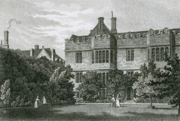 Exeter College, Oxford Date: 1821