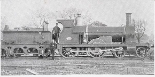 Express engine 4-4-0 Date