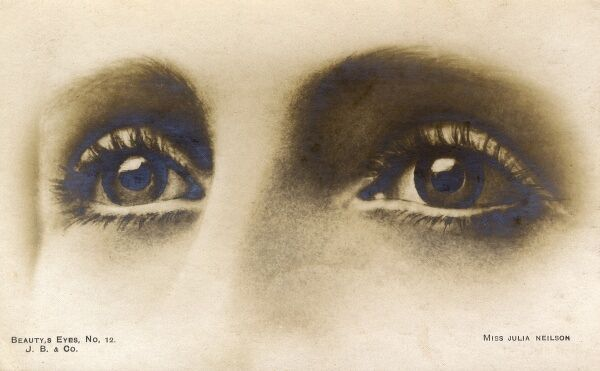 The Beautiful Eyes of Miss Julia Neilson Date: circa 1908