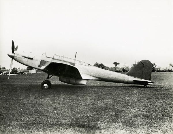 Fairey Battle, first flying testbed powered by a Sabre Series I engine Date: 1939