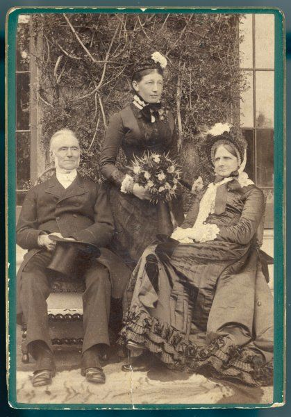 Dr Welldon, vicar of Kennington, Kent, with his wife and daughter