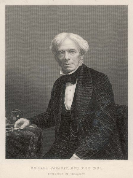 MICHAEL FARADAY English chemist and physicist