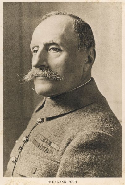 FERDINAND FOCH - Marshal of the French army during World war I