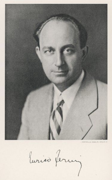 ENRICO FERMI - Italian physicist