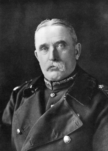 Field Marshal Sir John French, 1st Earl of Ypres (1852-1925), British Army officer who led the BEF (British Expeditionary Force) from August 1914. Date: circa 1914-1918