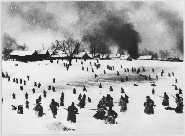 A counter-offensive by Soviets on the outskirts of Moscow prevents the Germans from reaching the city