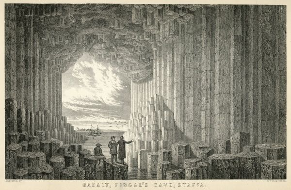 Fingal's Cave is a sea cave on the uninhabited island of Staffa, in the Inner Hebrides of Scotland. Date