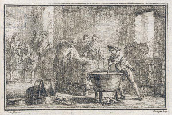 Making fireworks in 18th century France : mixing the explosive