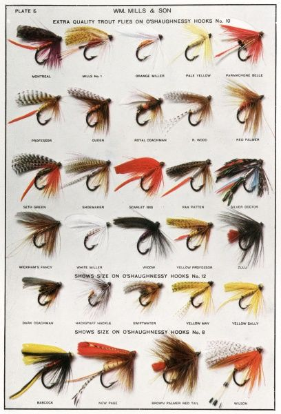 Fishing flies Date: 1913