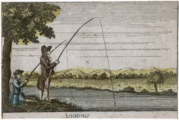 Angling in the 18th century