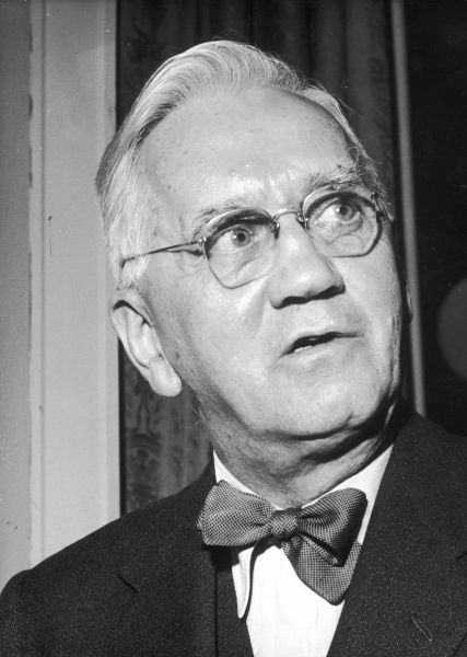 SIR ALEXANDER FLEMING - British medical scientist and bacteriologist