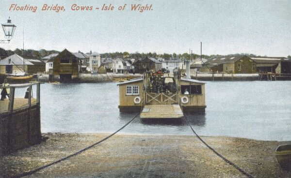 Floating Bridge, Cowes, Isle of Wight Date: 1910